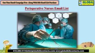 Perioperative Nurses EmailList