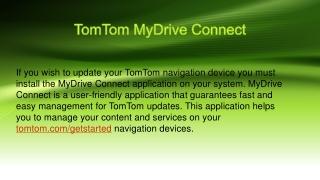 tom tom update sat nav