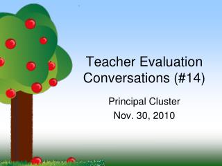 Teacher Evaluation Conversations (#14)