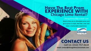 Have the Best Prom Experience with Chicago Limo Rental