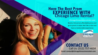 Have the Best Prom Experience with Limo Rental Chicago