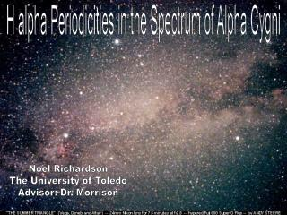H alpha Periodicities in the Spectrum of Alpha Cygni