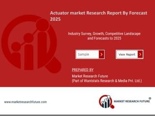 Actuator market