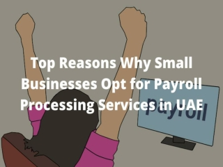 Top Reasons Why Small Businesses Opt for Payroll Processing Services in UAE