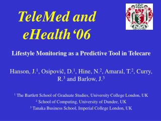 TeleMed and eHealth 06