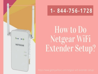 Netgear WiFi Extender Setup Instantly Just Call Us 1 877-778-8740