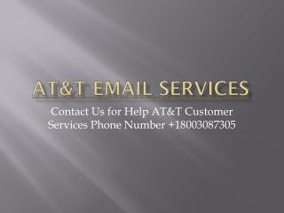 ATT EMAIL SERVICES