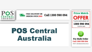 POS Central: Offering the Best Range of POS Hardware in Australia