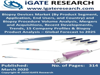 Global Biopsy Devices Market and Forecast to 2025