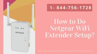 Setup WiFi Extender Netgear   Netgear WiFi Booster –Call Now