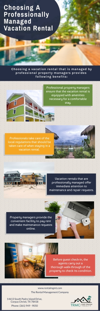 Choosing A Professionally Managed Vacation Rental