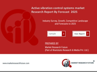 Active vibration control systems market