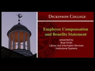 Employee Compensation and Benefits Statement