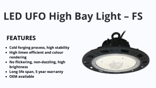 LED UFO High Bay Light – FS|HighBay|iPromise