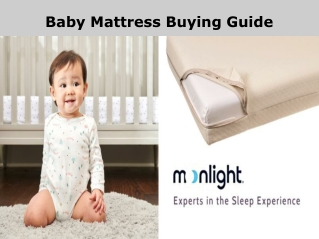 Baby Mattress Buying Guide