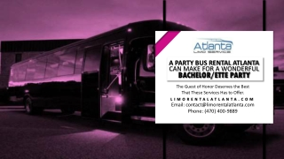 A Limo Service Near Me Can Make for a Wonderful Bachelorette Party