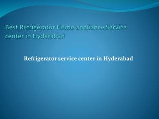 Whirlpool refrigerator service in Hyderabad