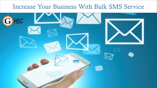 Best-In-Class Bulk SMS Services in Delhi NCR