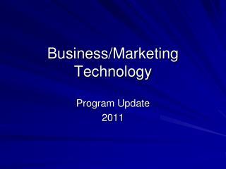 Business/Marketing Technology