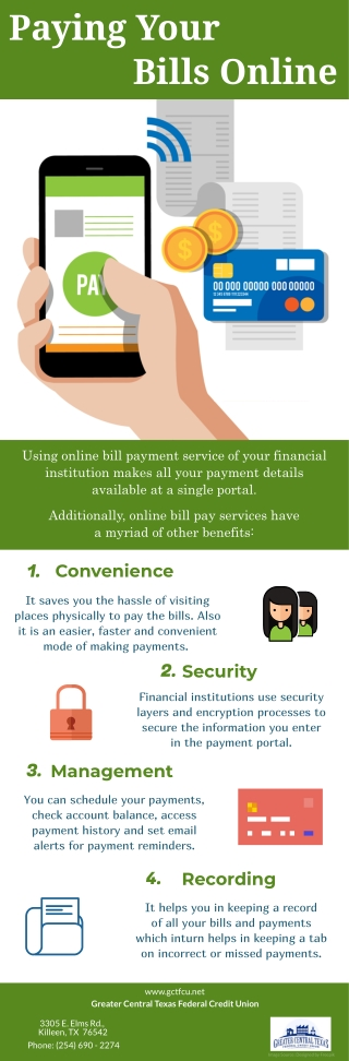 Paying Your Bills Online