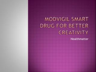 Artvigil smart drug for better creativity