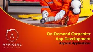 Carpenter App Development