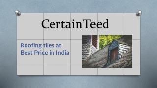 Best Roofing Tiles