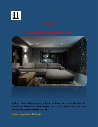 Laser Cut Panels | Design11.co.za