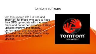tom tom update