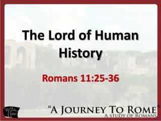 The Lord of Human History