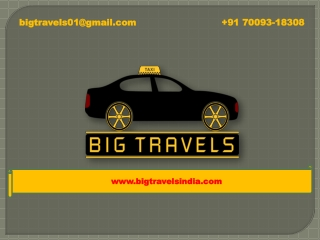 One way taxi Cab service in Jalandhar  91 70093 18308