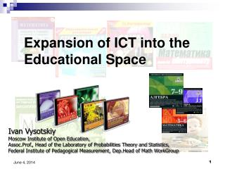 Expansion of ICT into the Educational Space