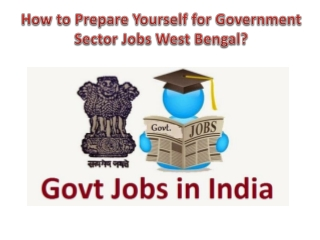How to Prepare Yourself for Government Sector Jobs?