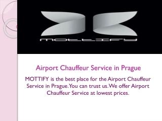 Airport Chauffeur Service in Prague