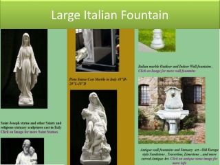 Carved Marble Statues