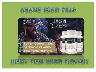 Amazin Brain pills