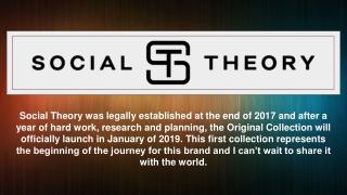 Social Theory Merchandise - Social Theory