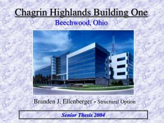 Chagrin Highlands Building One Beechwood, Ohio
