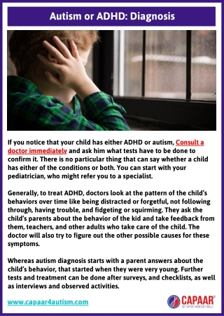 Autism or ADHD Diagnosis   Autism Centres Near Me   ADHD Centre Near Me
