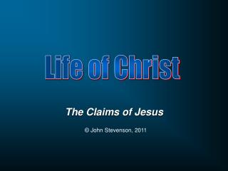 The Claims of Jesus
