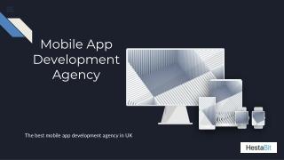 Mobile App  Development Agency in UK