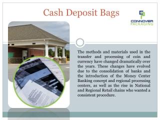 Cash Deposit Bags Online   Connover Packaging