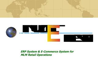 ERP System & E-Commerce System for MLM Retail Operations