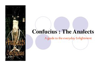 Confucius : The Analects