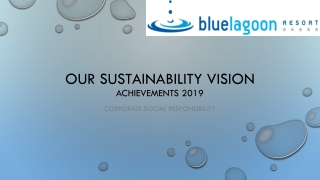 Our sustainability vision achievements 2019