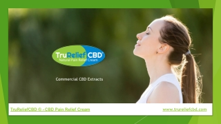 Commercial CBD Extracts