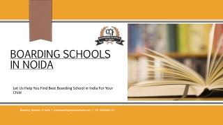 Best Boarding Schools in Noida | Boarding Schools of India