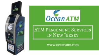 ATM Placement Services in New Jersey   ATM Placement Company