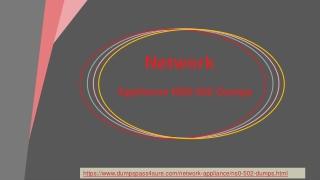 Network NS0-502 Dumps with 100% Passing Assurance | DumpsPass4sure