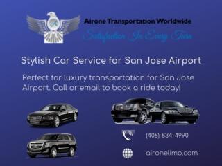 Stylish Car Service for San Jose Airport